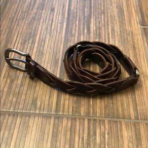 Hollister Accessories - LIKE NEW Hollister braided belt size M/L